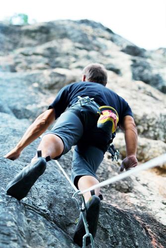 Robuste Kletterhosen für das Outdoor-Klettern